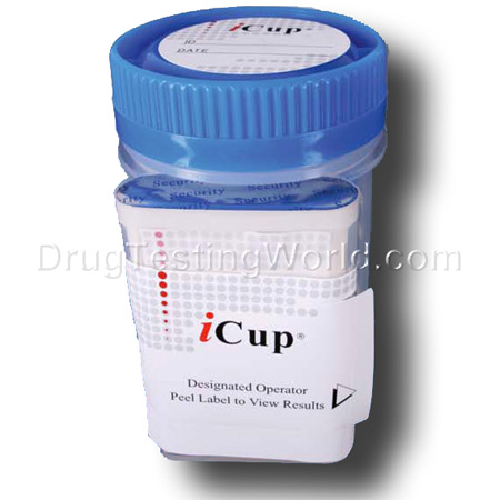 iCup 10 Panel Drug Test Kit - Click Image to Close